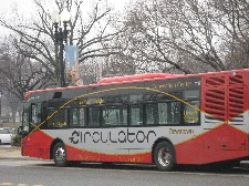 The DC Circulator bus service