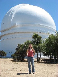 Julia at Palomar Observatory