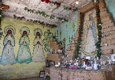 Lady of Guadalupe in Mission in the Sun chapel