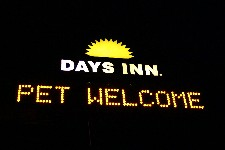 Days Inn in Hardeeville, SC welcomes pets
