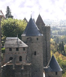 Castle at Carcassonne, France