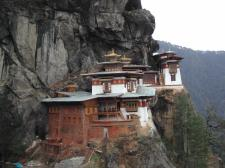 The Taktshang Goemba (Tiger's Nest Monastery); Henry David Shapiro ©2003