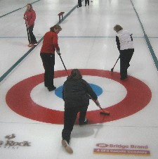 Ladies-league night at the the Canmore Golf & Curling Club