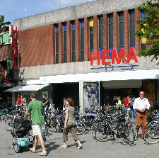 HEMA in Emmen, The Netherlands