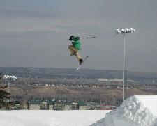 Ski jumping in Canada OlympicPark