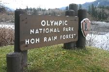Entrance Olympic National Park
