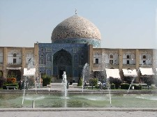 Lotfallah Mosque on Imam Square in Isfahan, Iran