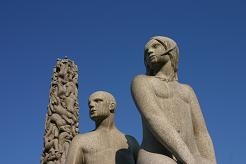 Sculptures in Vigeland Park