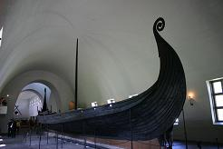 The Oseberg Viking ship