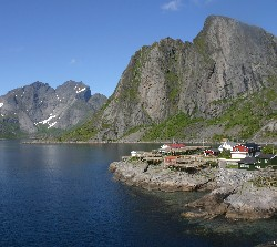 Fishing village of Hamnoy