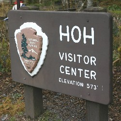 Hoh visitor center