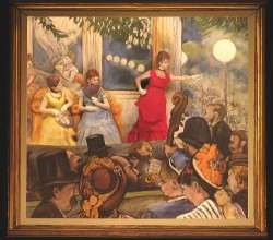 "Living version of ""Le Café Concert"" by Edgar Degas, in 2008 show. (Click to ENLARGE)"