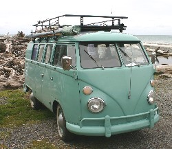 Gordon Hempton's 1964 Volkswagen Bus