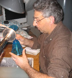 Luigi Camozzo at work