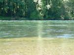 The McKenzie River, Oregon on days 1-3 (Click to ENLARGE)