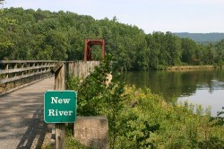 New River Trail State Park (Click to ENLARGE)