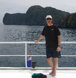 Tom Schultz in Mergui Archipelago