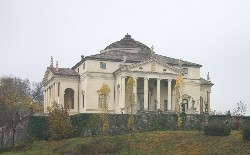 Villa Rotunda designed by Andrea Palladio and built in 1566