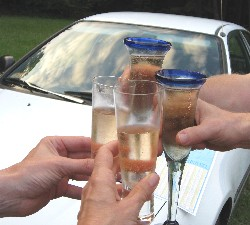 Toast to Diane's Honda Civic