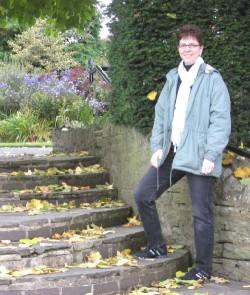 Trish Gannon at Belfast Botanic Gardens
