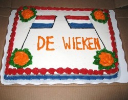 Special cake to celebrate Queen's Day