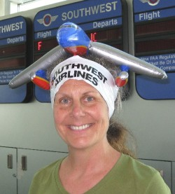 Diane is back in business as Southwest's ambassador