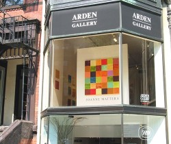 Arden Gallery in Boston represents Joanne Mattera