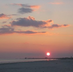 Sunset at Atlantic Beach, close to Perfection