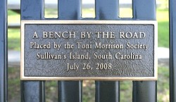 The bench was inaugurated in July 2008