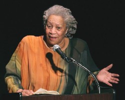 Writer and Nobel winner Toni Morrison (photo Wikipedia Commons)
