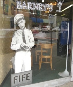 Barney Fife, on duty 24 hours a day