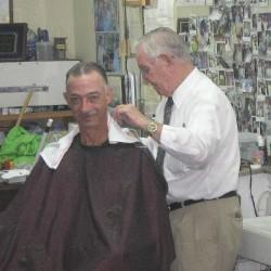 Russell Hiatt aka barber Floyd
