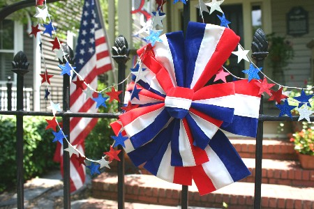 Indepence Day yard props