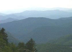 See why it's called Blue Ridge?