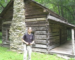 Wessel at Cook Cabin