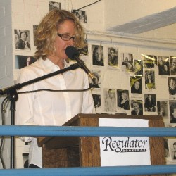 Margaret Sartor reads from the book