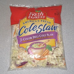 Coleslaw was invented by the Dutch who probably didn't want to waste leftover cabbage and carrots