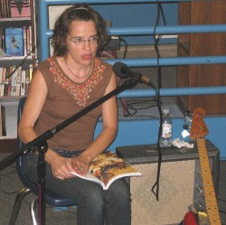 Laura Ballance reads from the Our Noise book
