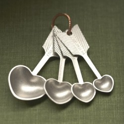 Spoons for lighthearted and heavyhearted ingredients
