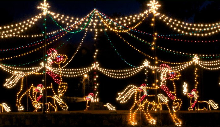 magical nights of lights at lake lanier islands resort