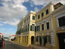 The Government House in Christiansted became the residence of the Danish governor in 1771