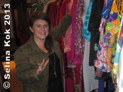 Jlinsnider owner Jamie Lin Snider carries quality vintage clothing and her own fashion line