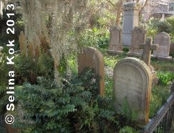 The Unitarian Church keeps its cemetery hauntingly overgrown