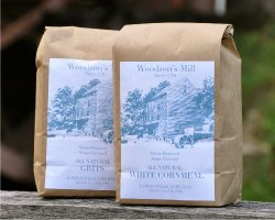 All-natural flours and meals are made at Woodson's Mill