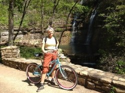 Cycling at Dogwood Canyon Nature Park