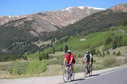 Participants of the Ride the Rockies