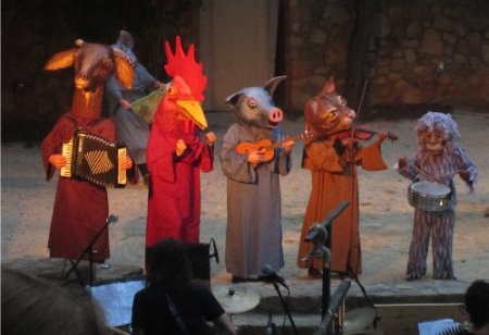 The animal orchestra in action