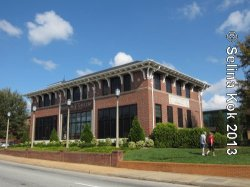 Satellite location of Bob Jones University Museum & Gallery in former Coca-Cola bottling plant