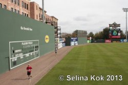 Fluor Field, home to the Greenville Drive baseball