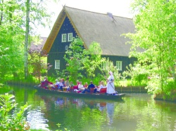 The tour includes a boat trip in Spreewald. Photo by VBT Bicycling and Walking Vacations.